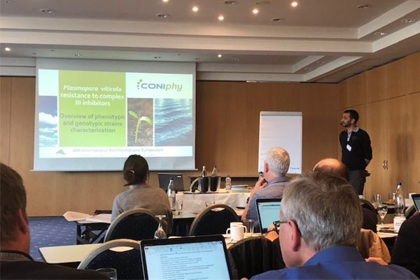 "Coniphy a participé au ""19th Reinhardsbrunn-symposium on modern fungicides and anti-fungal compounds"""