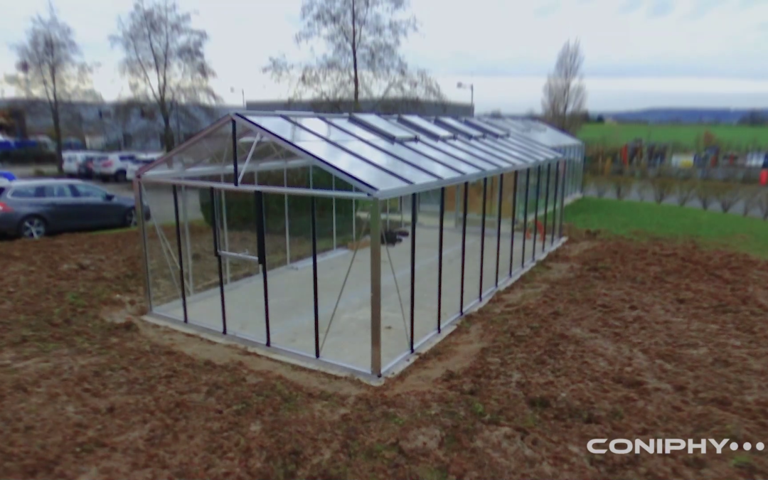 Construction of a new greenhouse